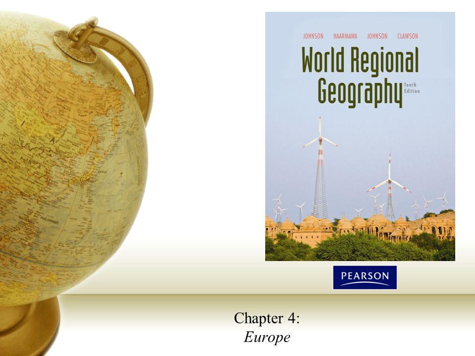 World Regional Geography, Tenth EditionCopyright © 2010 Pearson Education, Inc. 2 The European Map