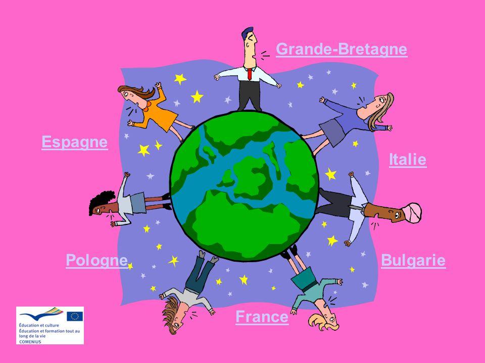 Grande-Bretagne France BulgariePologne Italie Espagne