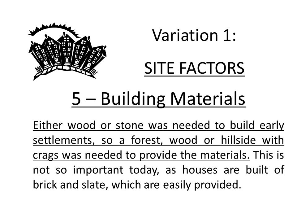 Urban Structure What do you need to know today.