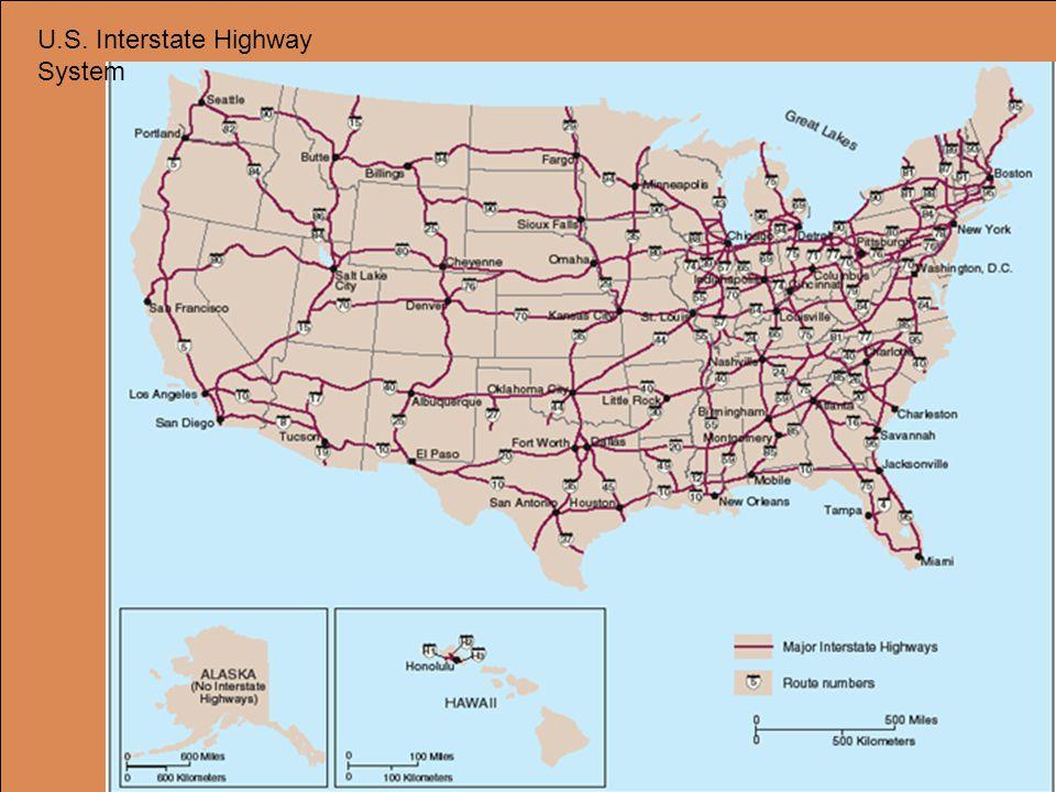 U.S. Interstate Highway System