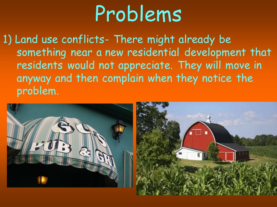 2) Social conflicts: New people may not mix with the original people, may expect different things.