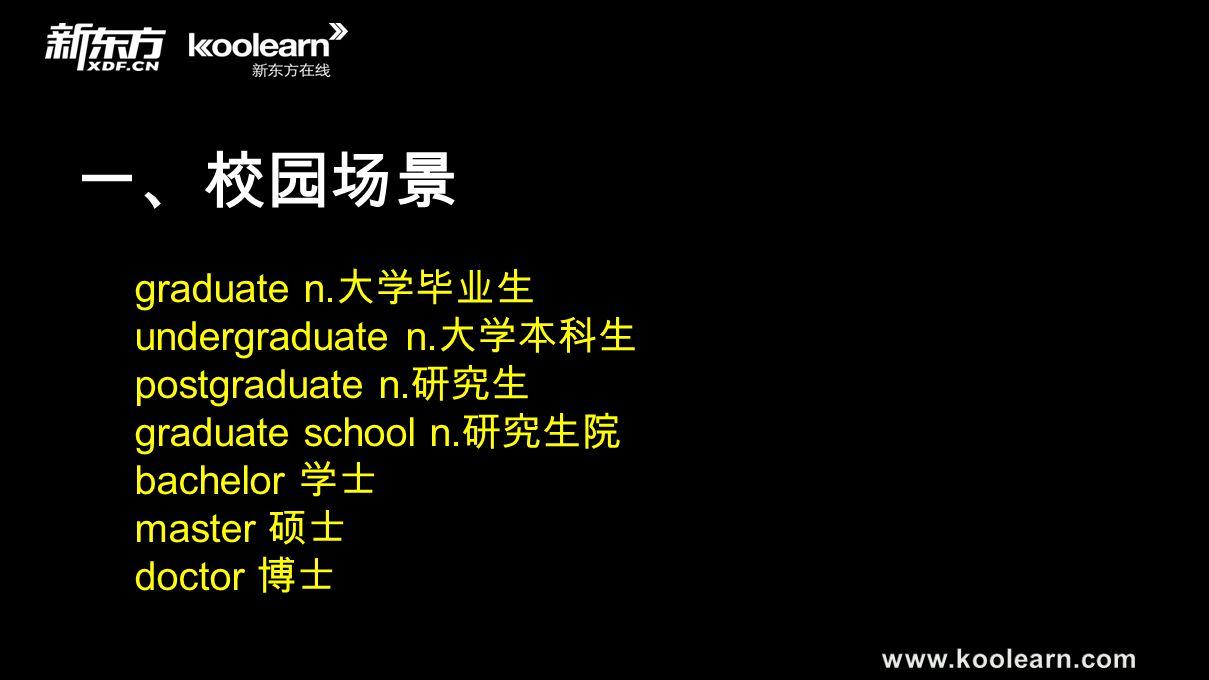 三、工作场景 retire v. retirement n. be fired/ be laid off quit/resign resignation n.