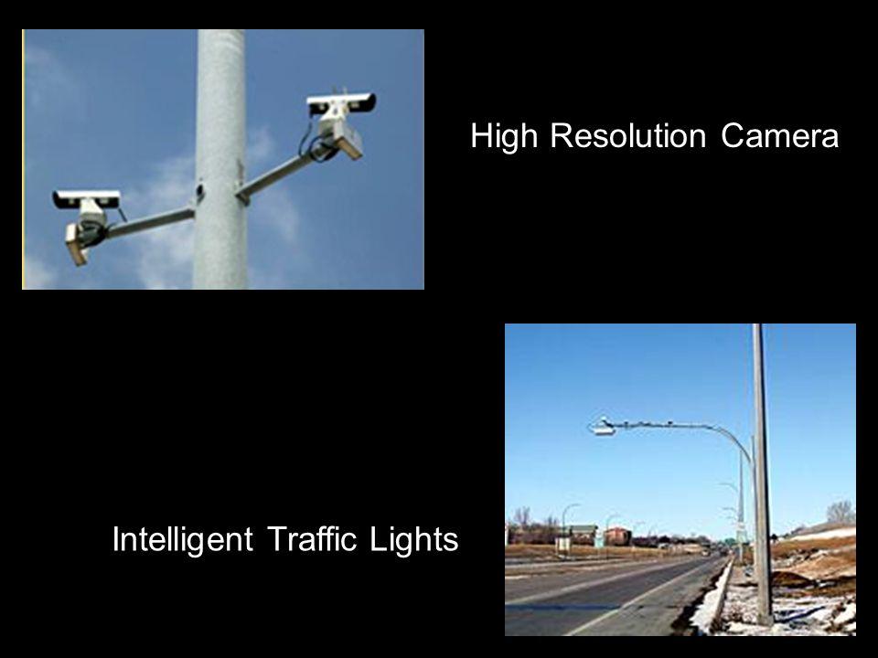 High Resolution Camera Intelligent Traffic Lights