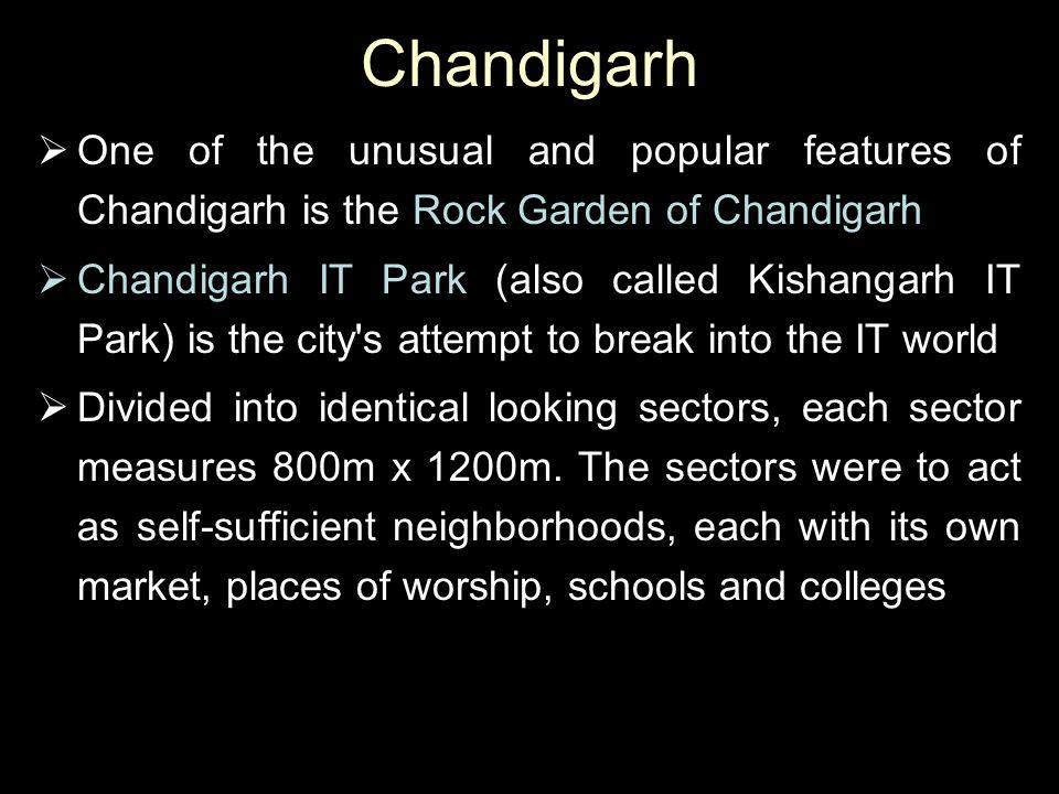 Chandigarh City Map
