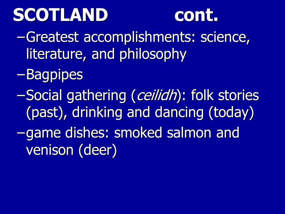 SCOTLAND cont.
