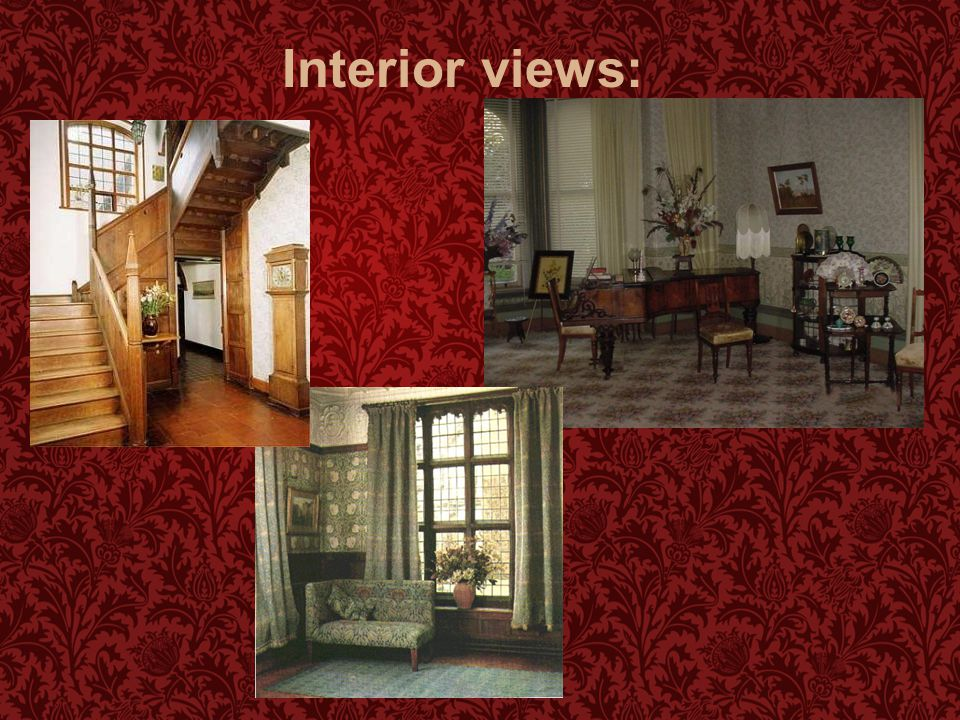 Interior views: