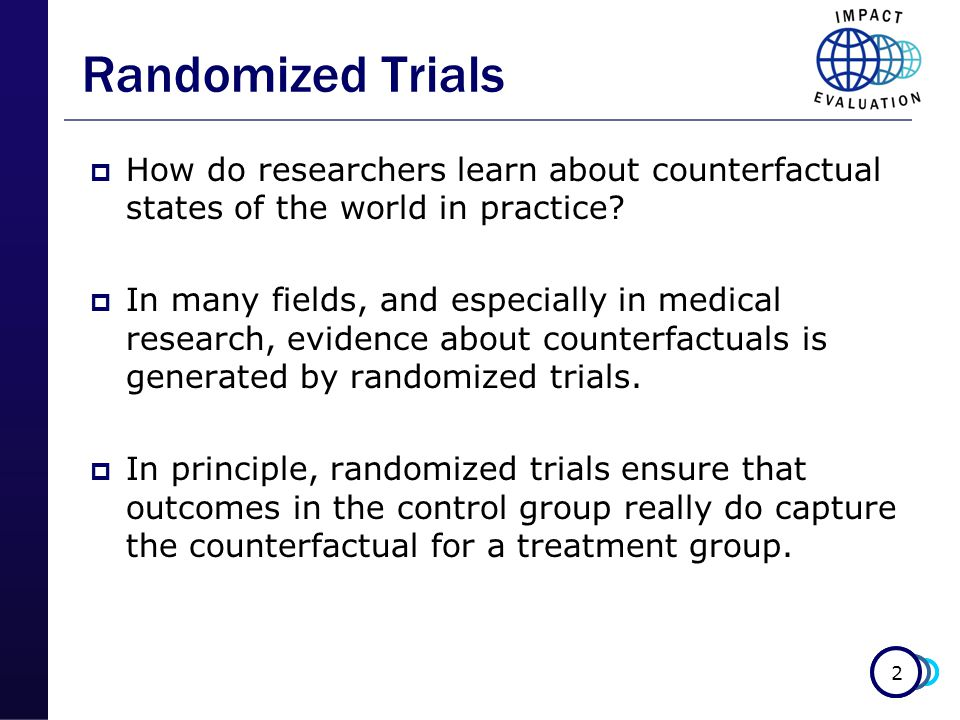 3 Randomization  To answer causal questions, statisticians recommend a formal two-stage statistical model.