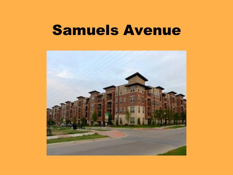 Samuels Avenue