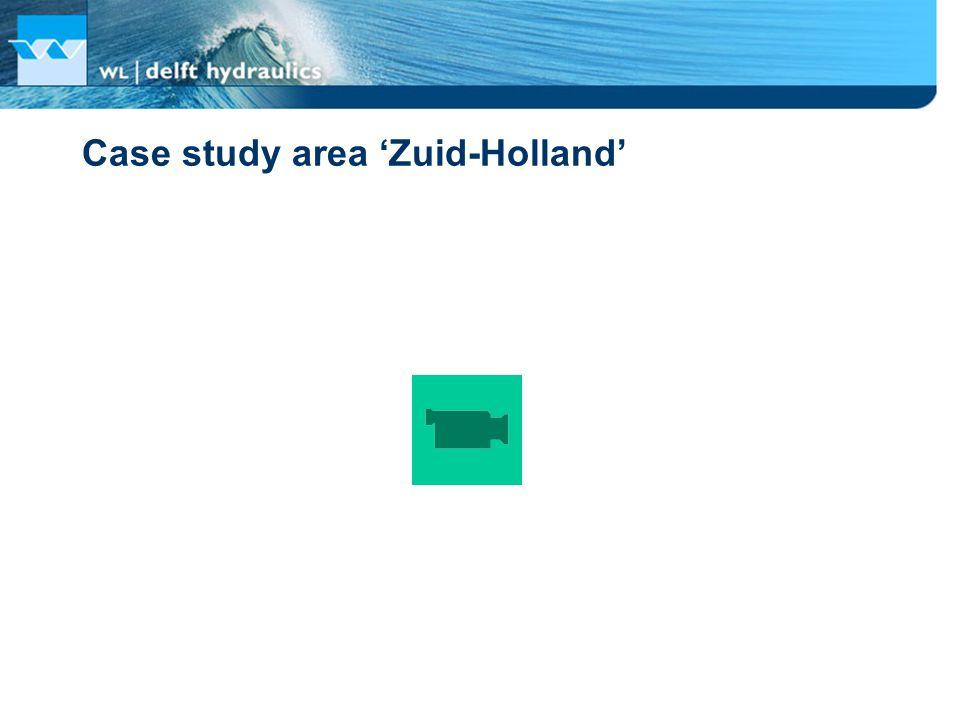 Case study area 'Zuid-Holland'