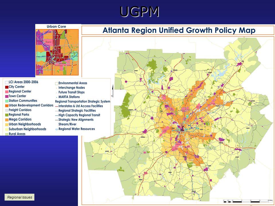 UGPM Regional Issues