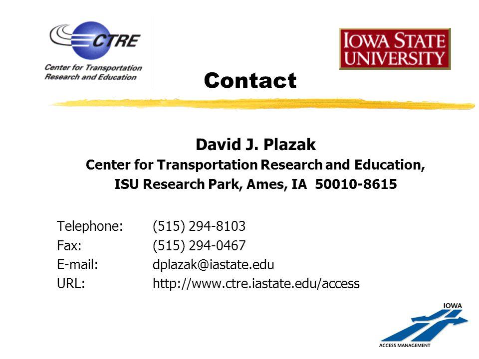 Contact David J.