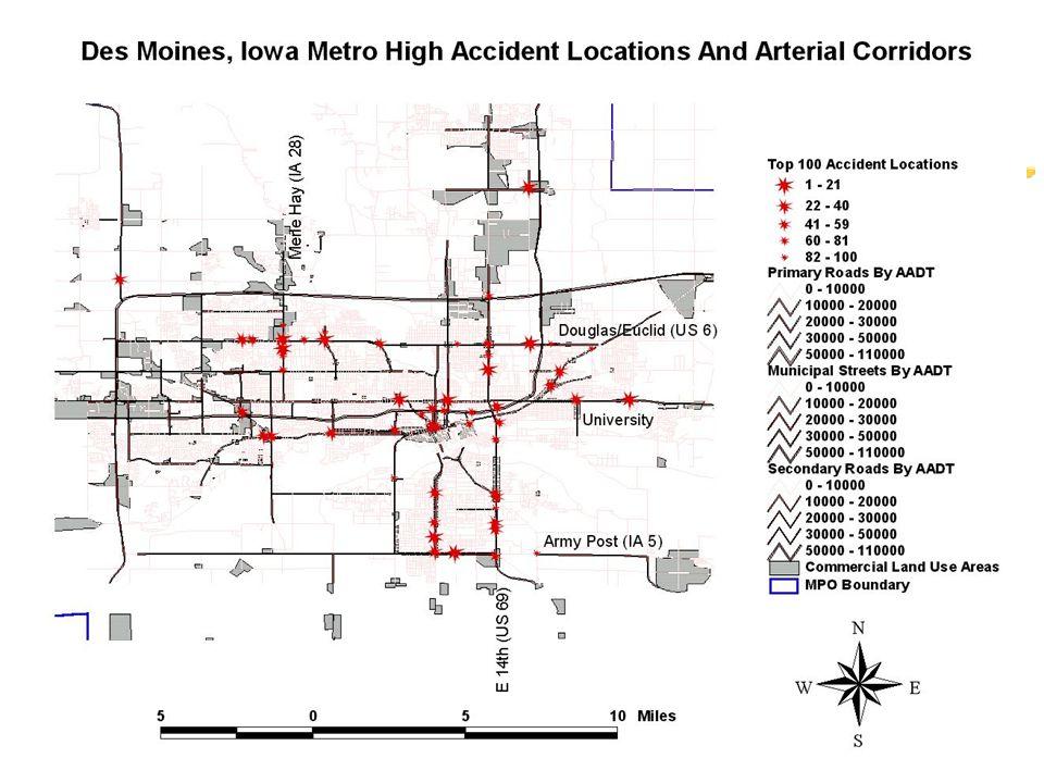 Iowa Case Study Locations