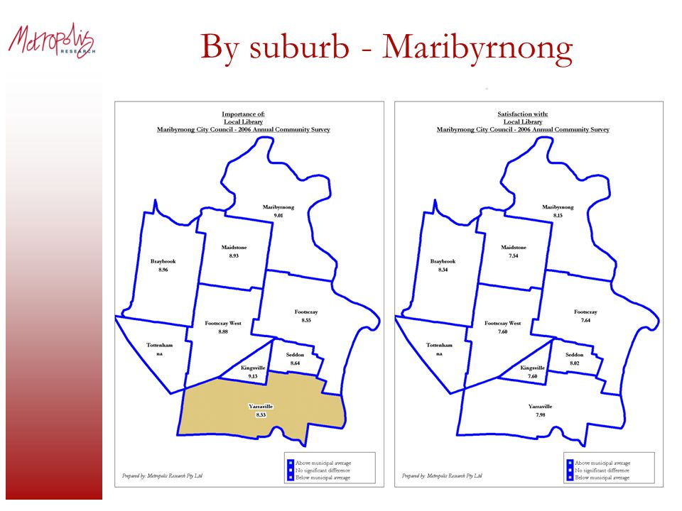 By suburb - Maribyrnong