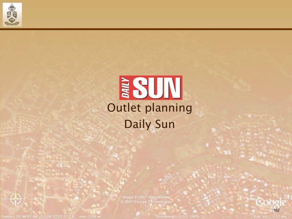 102 Outlet planning Daily Sun