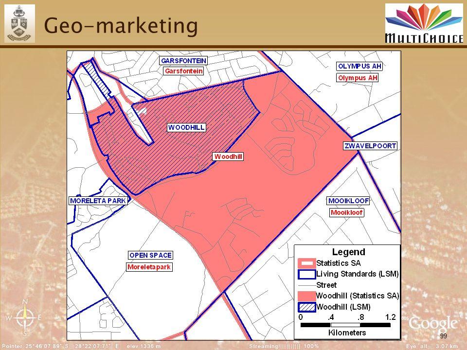 99 Geo-marketing