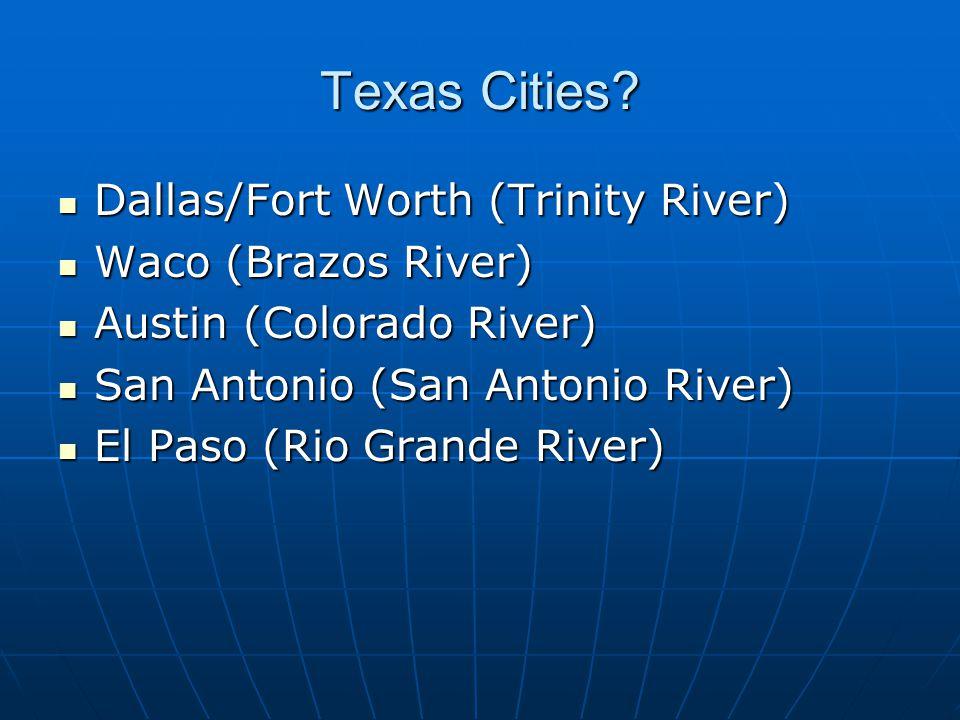 Texas Cities.