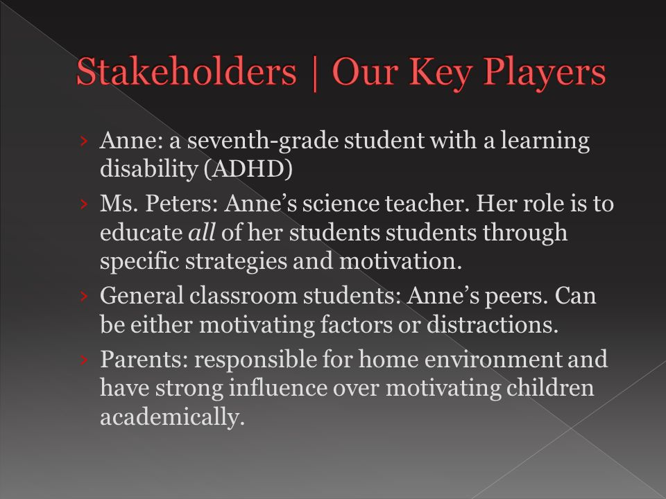  Should students who have ADHD be included in regular education classrooms.