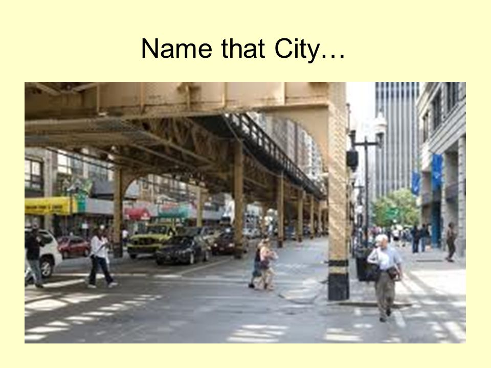 Name that City…