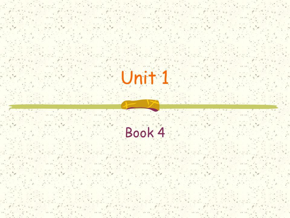 Unit 1 Book 4