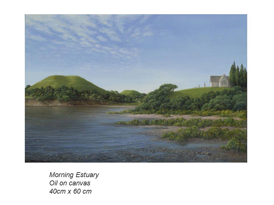 Morning Estuary Oil on canvas 40cm x 60 cm