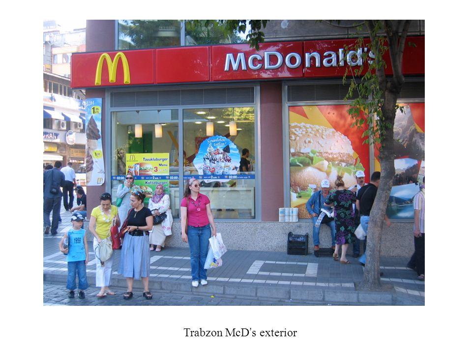 Trabzon McD's exterior