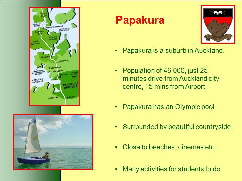 Papakura Papakura is a suburb in Auckland.