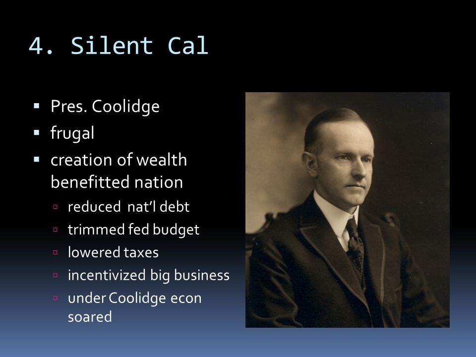 4. Silent Cal  Pres.
