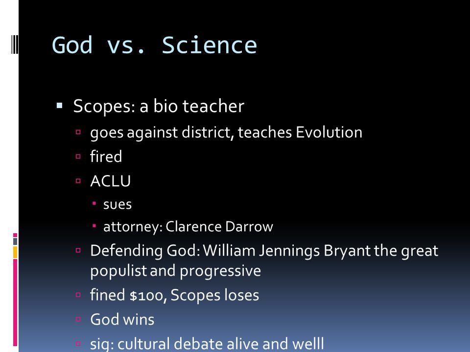 God vs.