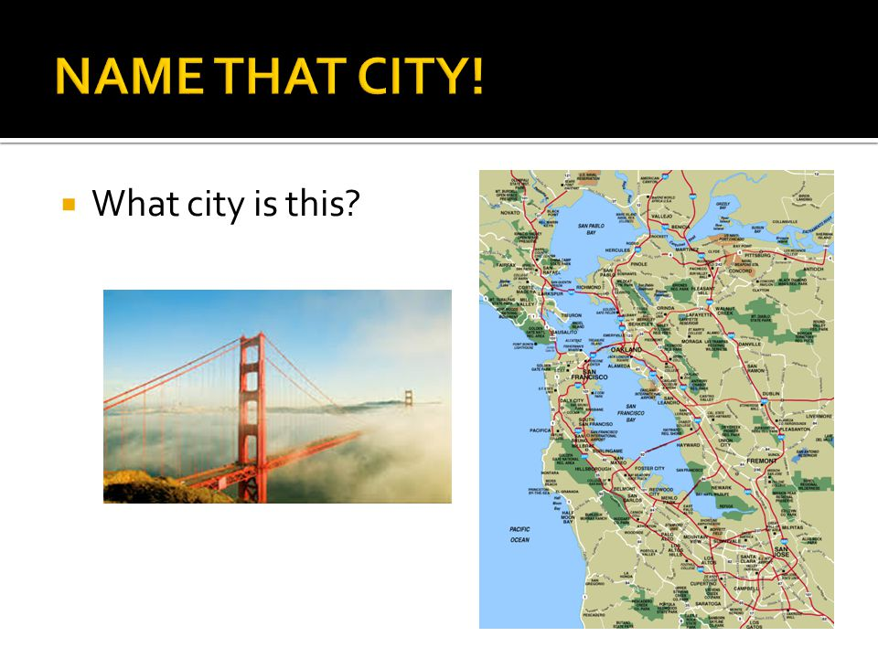  What city is this