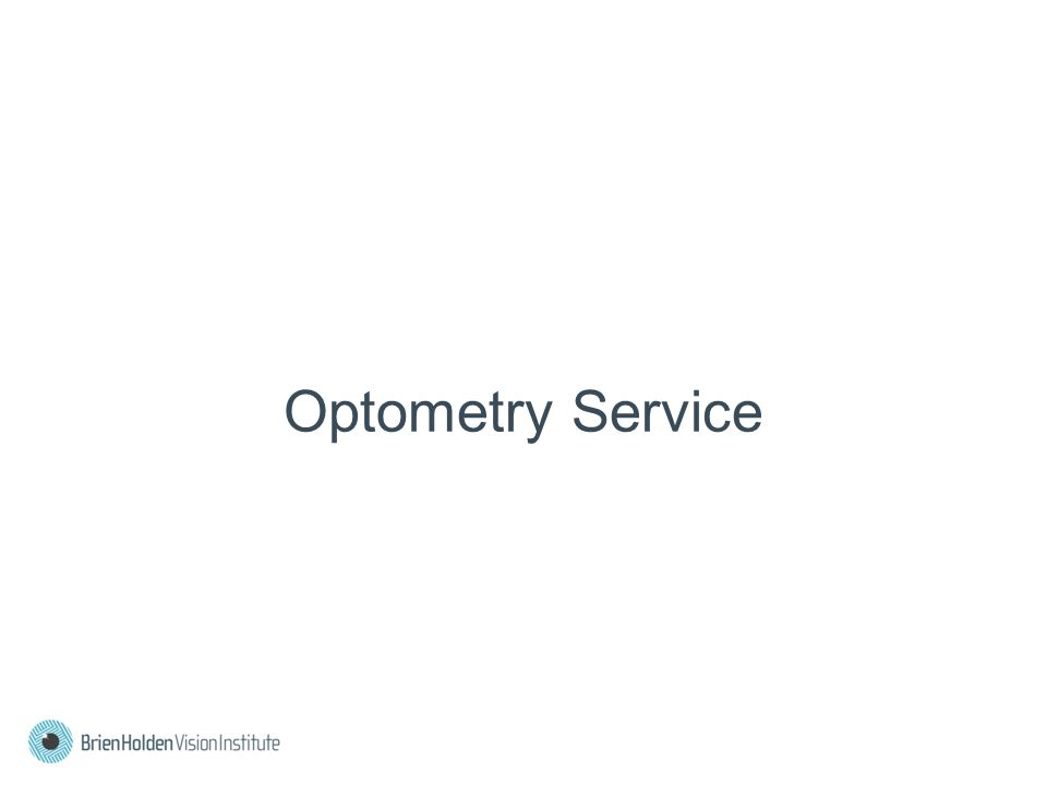 Optometry Service