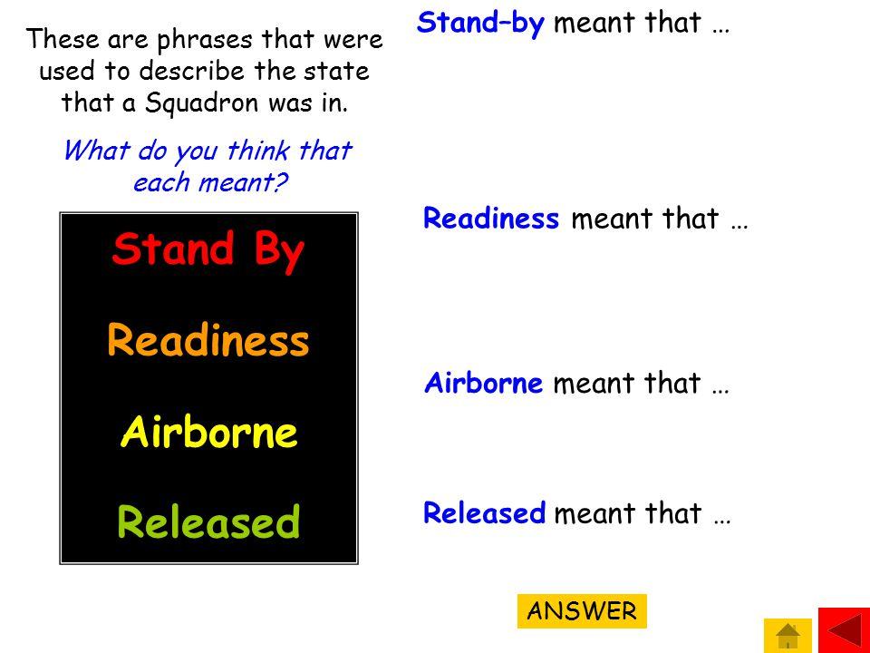 States of Readiness Squadrons were usually off the ground within three minutes of receiving the order to 'scramble'.