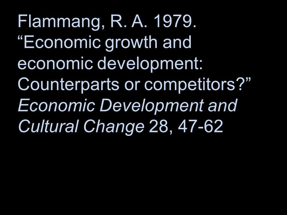 Flammang, R. A. 1979.