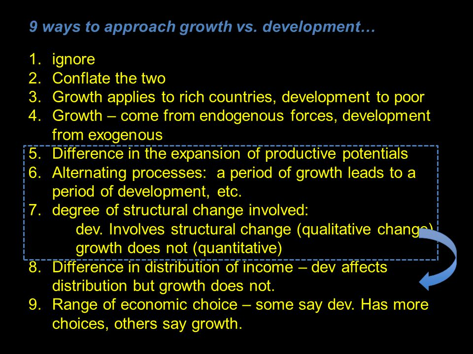 9 ways to approach growth vs.
