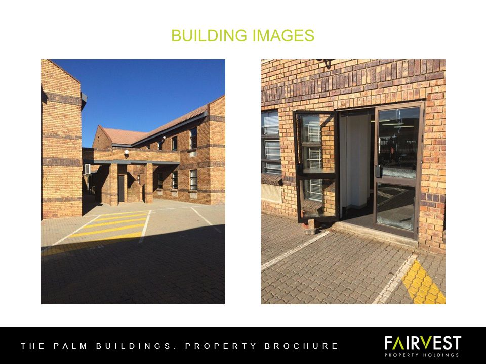 BUILDING IMAGES THE PALM BUILDINGS: PROPERTY BROCHURE