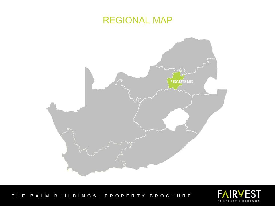 REGIONAL MAP THE PALM BUILDINGS: PROPERTY BROCHURE