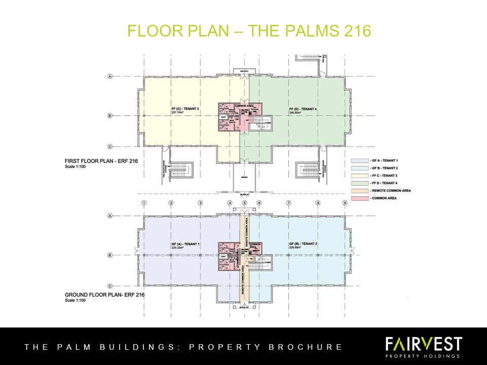 FLOOR PLAN – THE PALMS 216 THE PALM BUILDINGS: PROPERTY BROCHURE