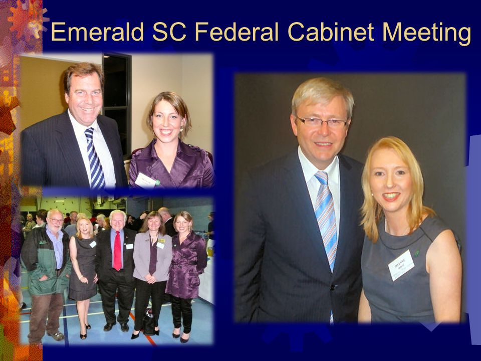 Emerald SC Federal Cabinet Meeting