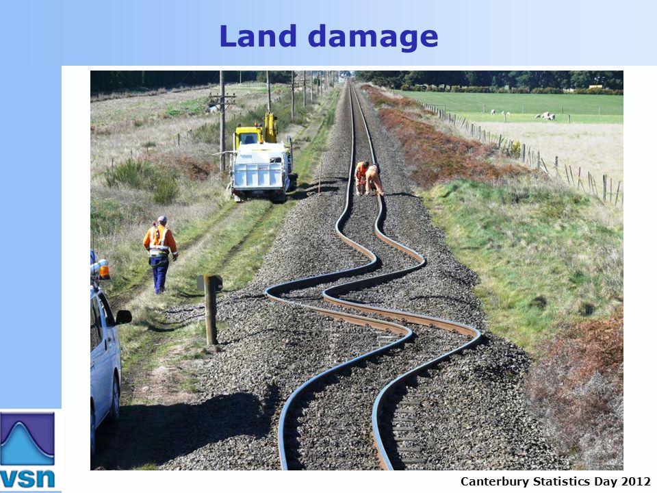 Canterbury Statistics Day 2012 Land damage