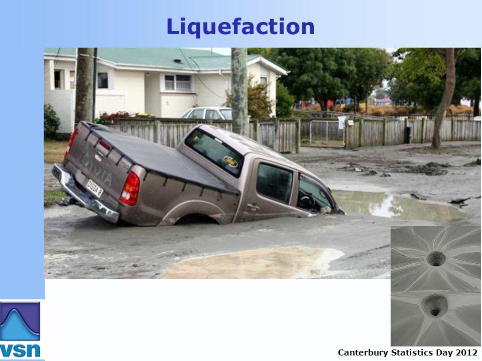 Canterbury Statistics Day 2012 Liquefaction