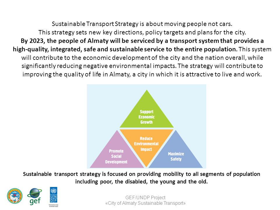Sustainable Transport Strategy is about moving people not cars. This strategy sets new key directions, policy targets and plans for the city. By 2023,