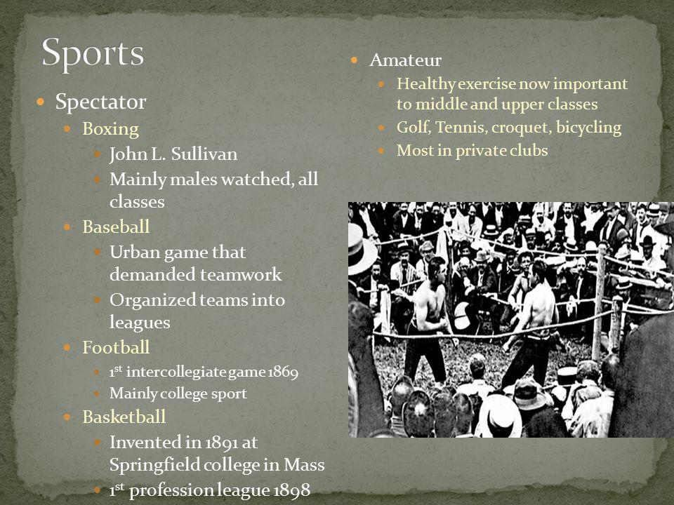 Spectator Boxing John L.