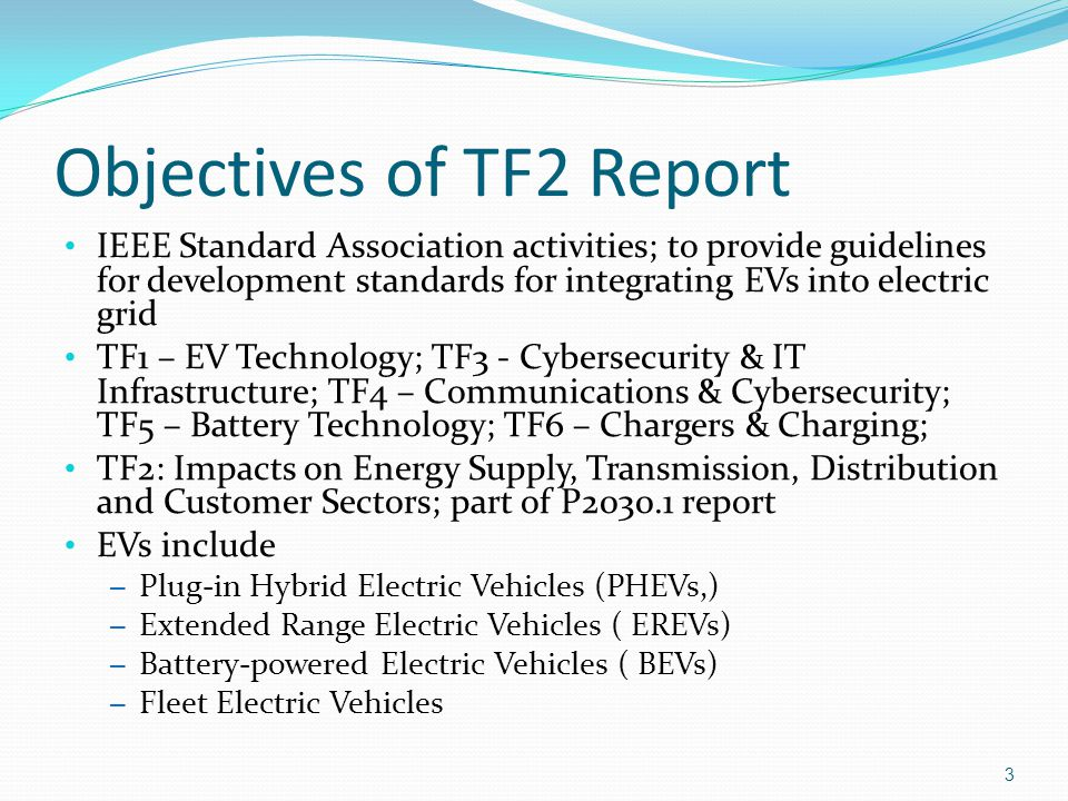 System Operations Effects EVs Acting as Loads and/or Sources Grid Stability / Reliability Service Interruption & Restoration Frequency Regulation / Synchronism Phasing Interactive Voltage Control / Phased Switching Reactive Power Management Demand Side Management (DSM) Controlled Charge/Import & Discharge/Export Cyber Security Distribution System Impacts Slide #34