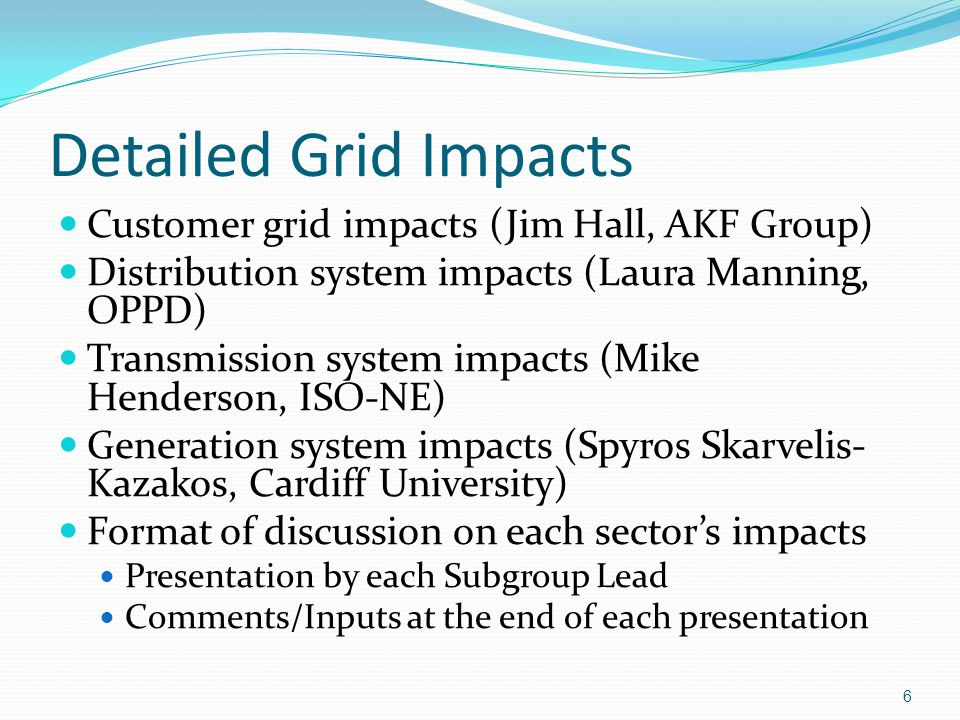 Growth of Smart Grid Technologies Smart grid technologies can affect energy use Examples: Load management and Flexible Alternating Current Transmission Systems Energy storage is getting increased focus as a benefit to system operations and to mitigate impact of variable resources Plug-in electric vehicles (EVs) can act as loads, sources, or dynamic voltage sources The large scale integration of EVs will affect the planning and operation of the electric power system grid 47