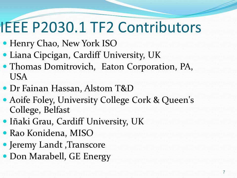 38 IEEE 2030.1 TF2 Draft Webinar Distribution System Impacts