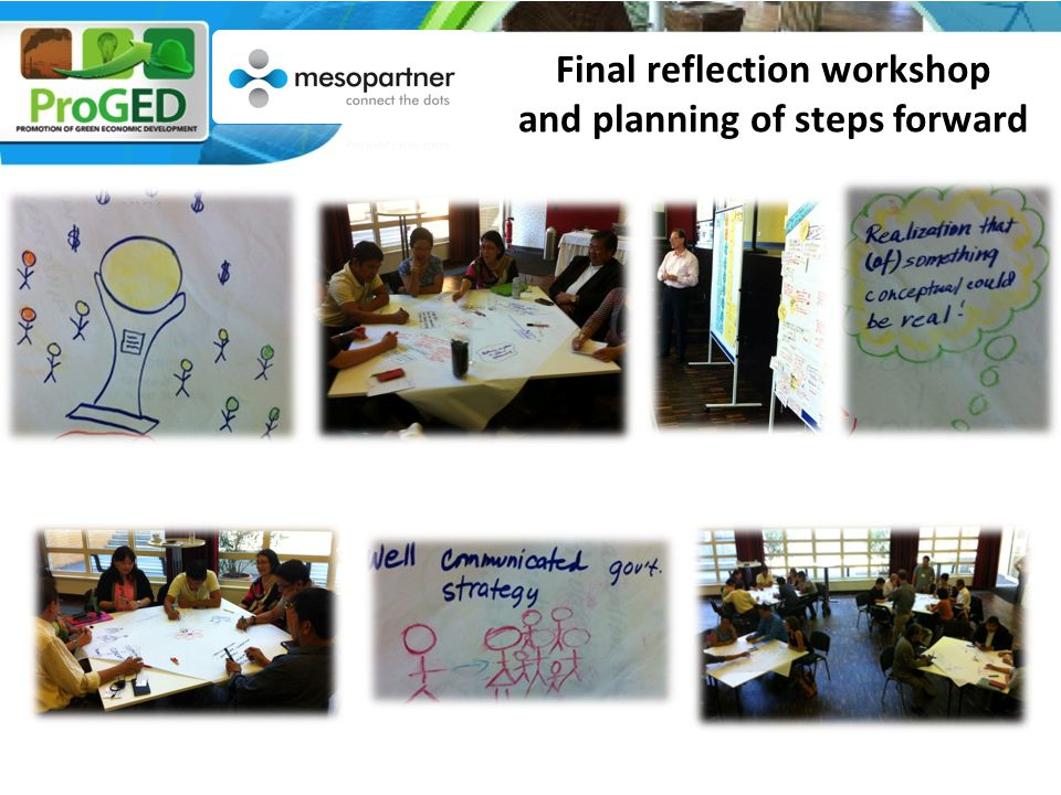 Final reflection workshop and planning of steps forward xxx  xx