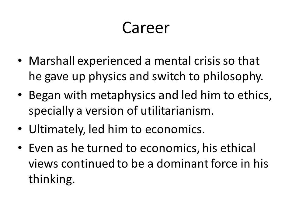 Thoughts interacted with… Adam Smith David Ricardo John Stuart Mill Etc…
