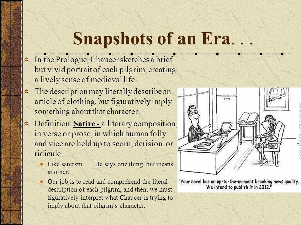 Snapshots of an Era...