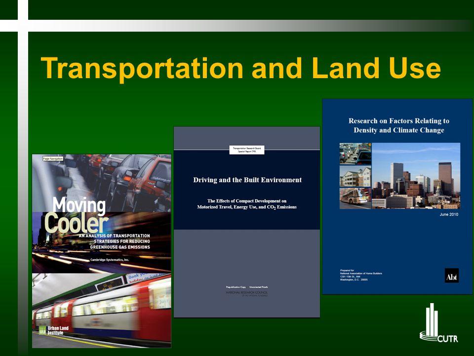 Transportation and Land Use
