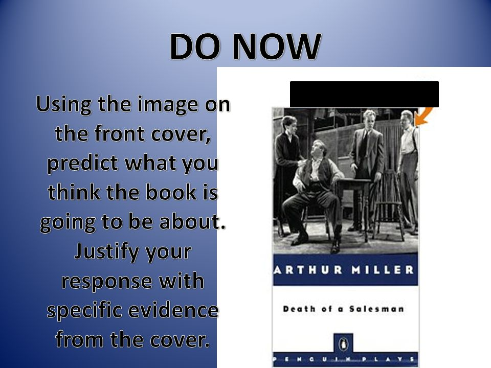 Arthur Miller A native New Yorker, attends the University of Michigan.