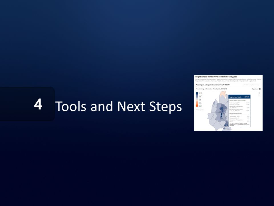Tools and Next Steps 4